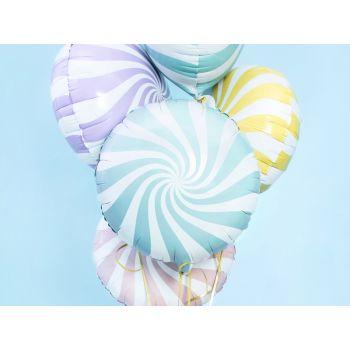 Ballon hélium Candy bleu