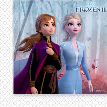 20 Serviettes Reine des Neiges II