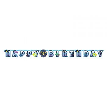 Banderole Happy Birthday Battle Royal