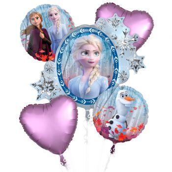 Bouquet de ballons La Reine des Neiges II