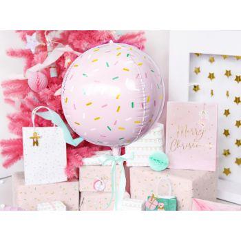 Ballon rose sprinkles