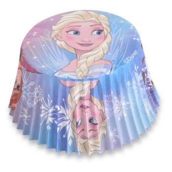 50 Caissette cupcakes La Reine des Neiges