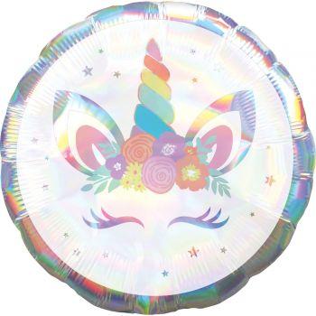 Ballon Holographique Licorne