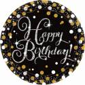 Happy Birthday pétillant Or Argent