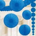Décoration bleu foncé