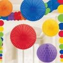Décoration multicolore
