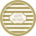 Golden Happy Birthday
