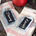 Marque place et étiquettes
