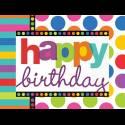 Happy Birthday Multicolore