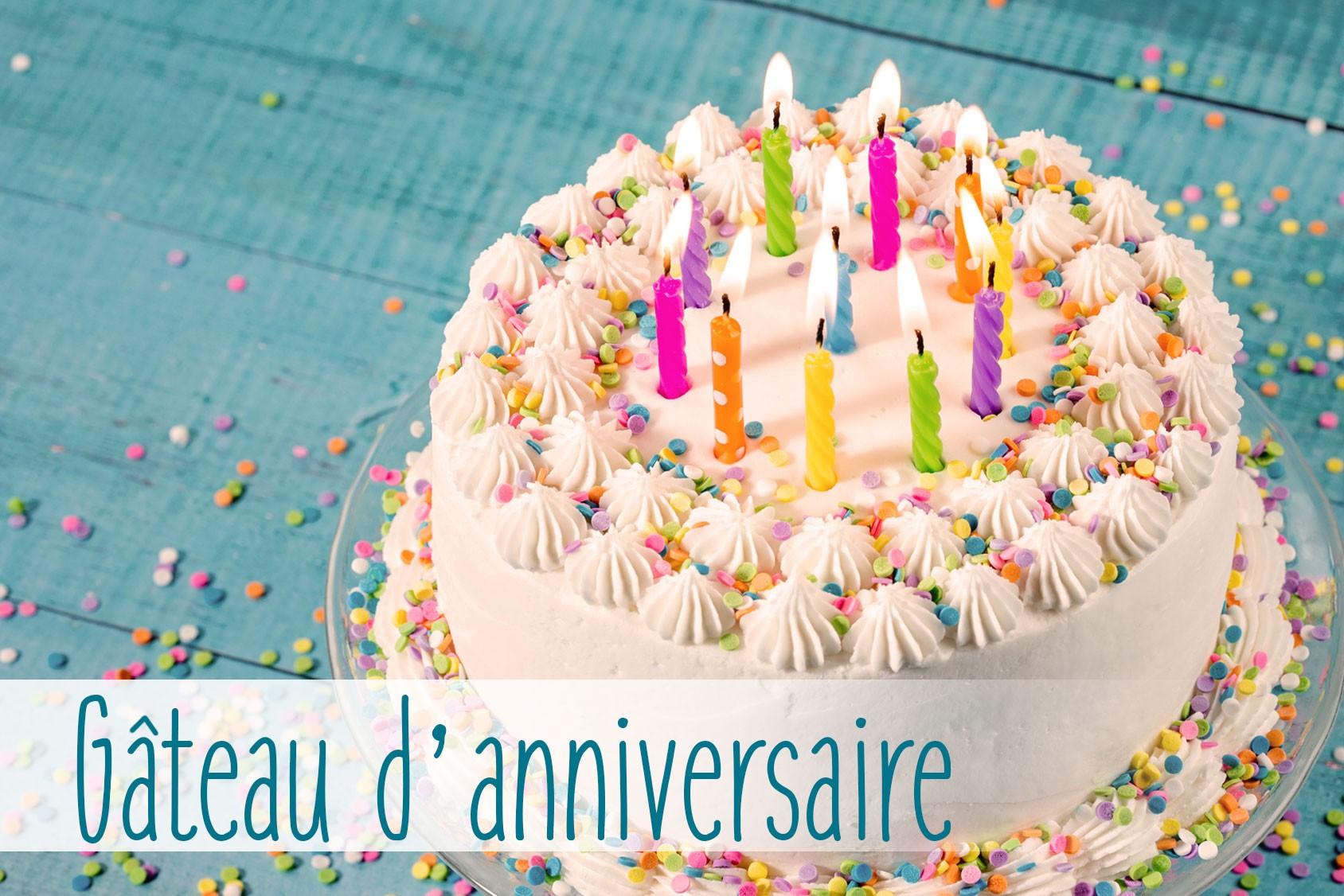 Deco pour gâteau d'anniversaire