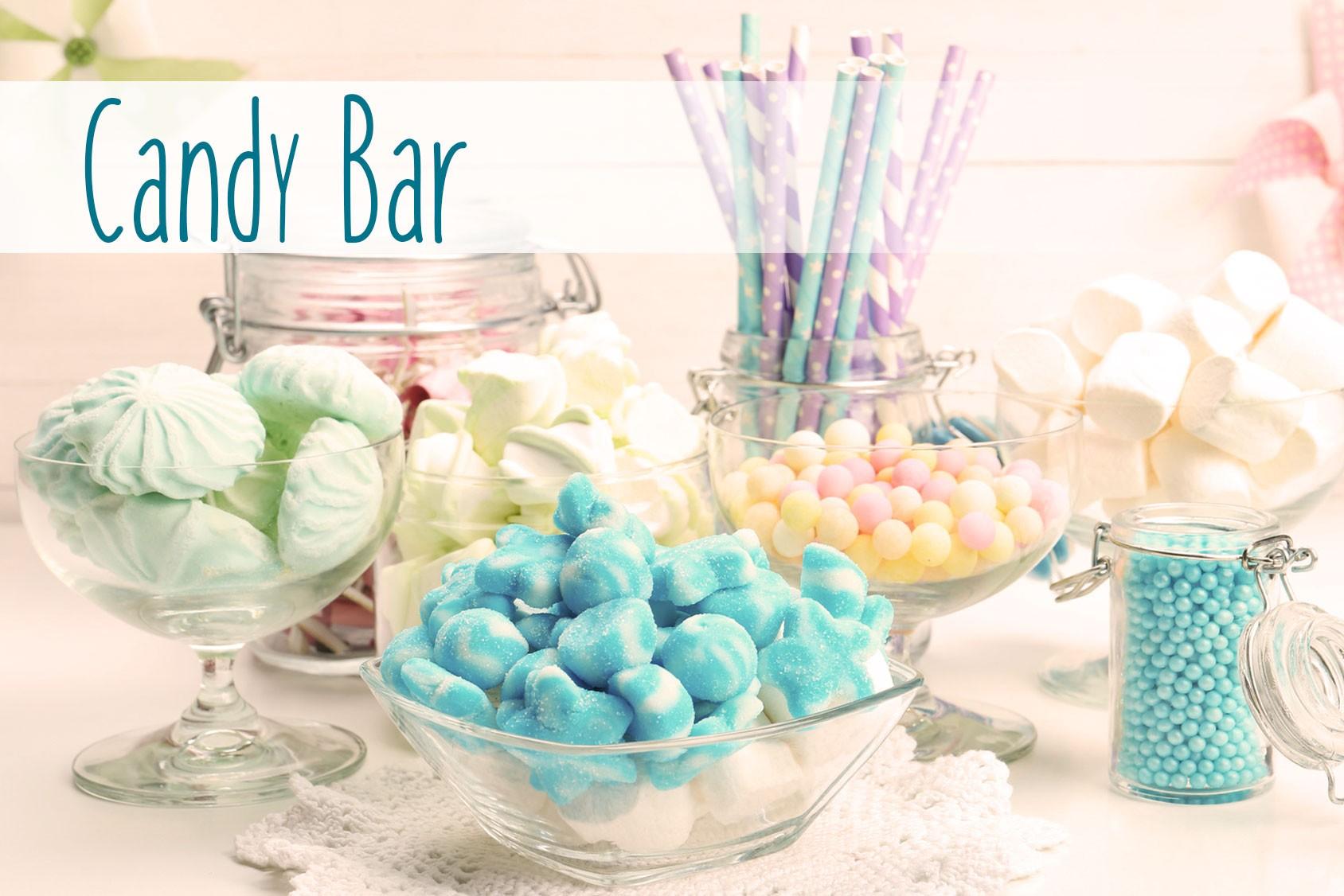 Candy bar pour fête d'anniversaire